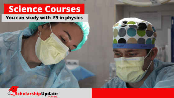 list of science courses without physics