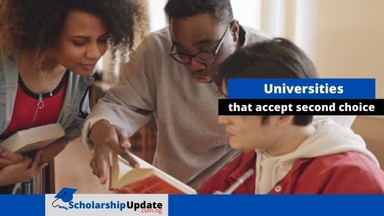 Universities in Nigeria that accept second choice